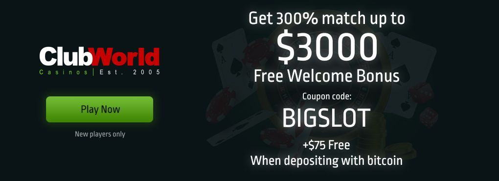 Promotions You Don't Want To Miss At Club World Flash Casino